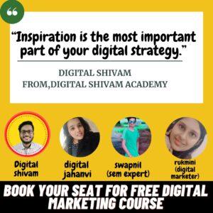 Learn Free Digital Marketing Course