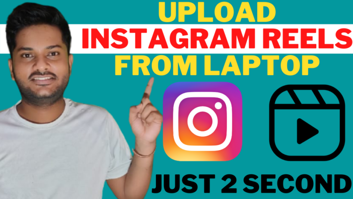 How to upload instagram reels from computer